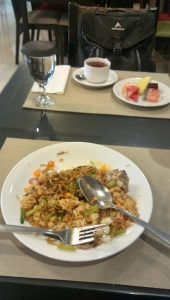 Sarapan di Ramayana Hotel Makassar