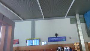Bandara Sultan Hasanuddin Makassar desain interior