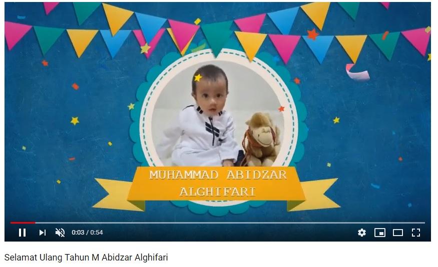 cover video youtube tentang m abidzar alghifari