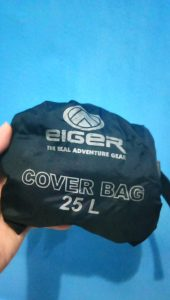 Cover Bag Eiger yang lama