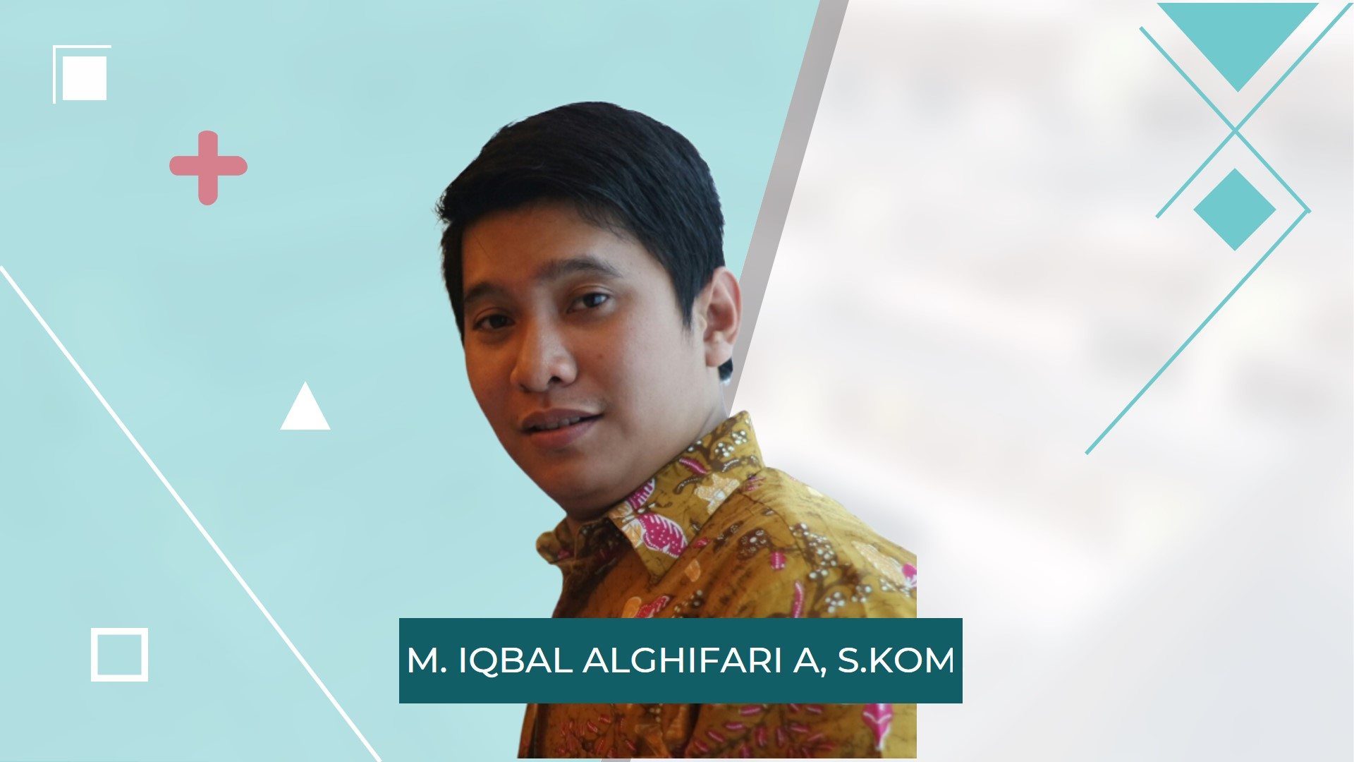 Profil Iqbal Alghifari - Blogger, Digital Marketer & IT Konsultan