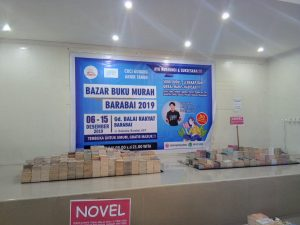 Backdrop Bazar Buku Murah Barabai