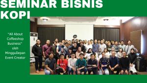 Seminar Bisnis Kopi 2019 di Banjarmasin