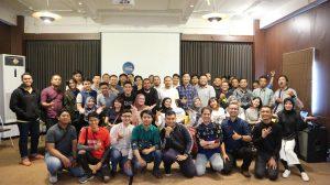 Foto bersama Peserta, Fasilitator, dan Tim Minggu Depan di Seminar Bisnis Kopi