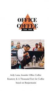 Profil Facilitator Ardy Maulana (Owner Office Coffee Banjarmasin)