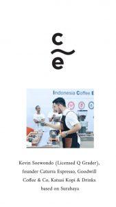 Profil Facilitator Kevin Soewondo (Owner Caturra Espresso Surabaya)